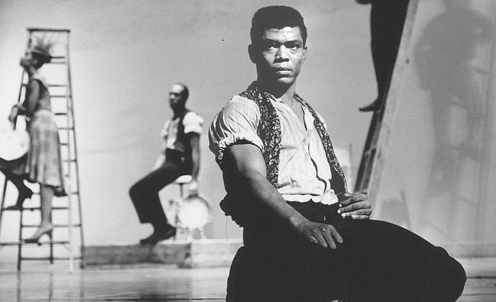 """""""Ailey"""" traces the full contours of Alvin Ailey — the brilliant and enigmatic man whose search for the truth in movement resulted in enduring choreography that centers on the Black American experience with grace, strength, and unparalleled beauty. (SIFF/Courtesy)"""