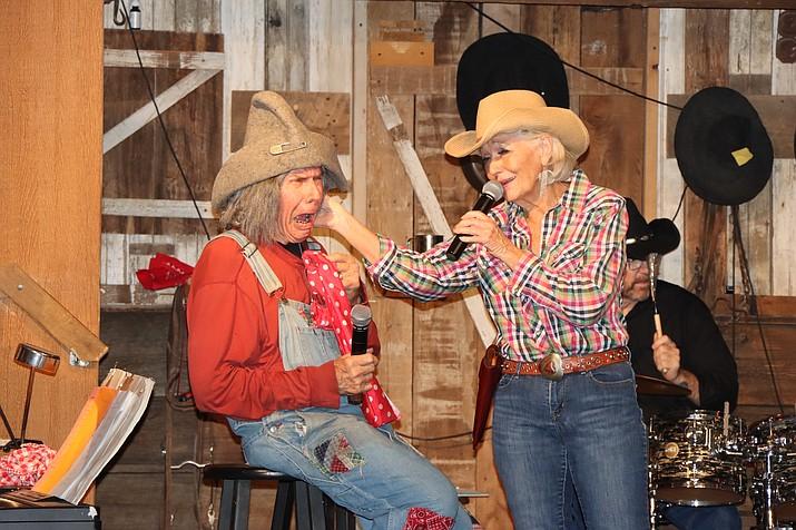 The Jake & Otis Show featuring Otis and singer Charlie Allen. (Blushing Cactus/Courtesy)