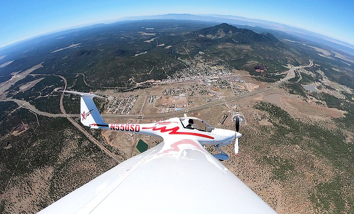 Arizona Soaring is now offering glider rides at H.A. Clark Airport in Williams. (Photo courtesy of Arizona Soaring)