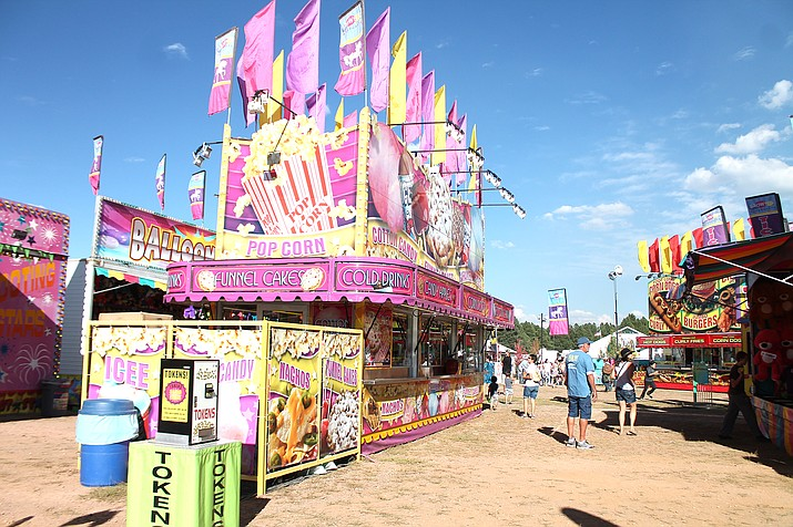 The Coconino County Fair takes place over Labor Day weekend, Sept. 3-6 at Fort Tuthill County Park in Flagstaff. (Loretta McKenney/WGCN)