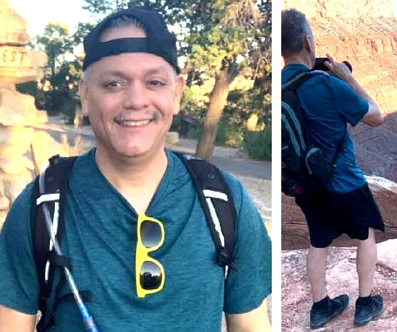 Arturo Hernandez, 48, of Surprise, Arizona was last seen east of Hermit Creek Camp on the Tonto Trail on Aug. 22. (Photo/NPS)