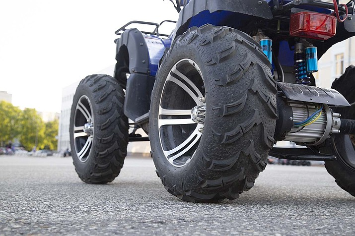 While all-terrain vehicles are a popular way to explore off-road areas, the Arizona Department of Transportation reminds ATV riders it is illegal and unsafe to drive these vehicles along state roadways. (Independent stock photo)