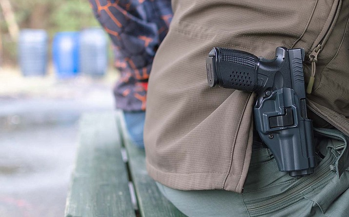 In a new ruling, the Arizona Court of Appeals concluded that state courts do have the power to restore an individual's right to possess or carry a firearm, regardless of where a prior conviction occurred. It is not automatic, there are limits, a judge said. (Independent file photo)