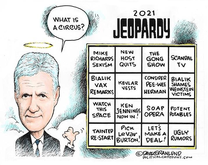 Editorial cartoon (1): Aug. 30, 2021