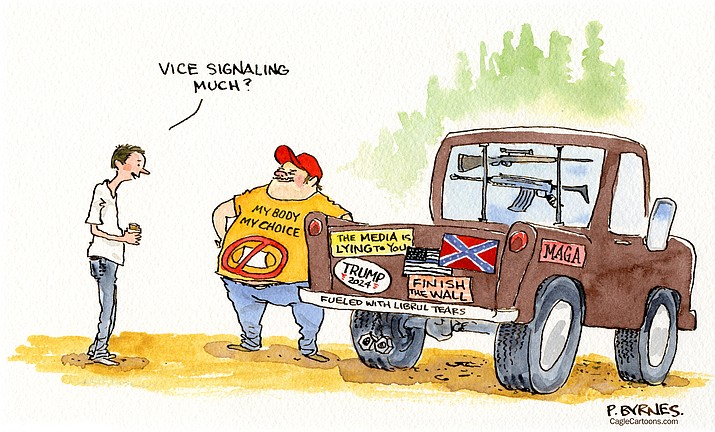 Editorial cartoon (2): Aug. 31, 2021