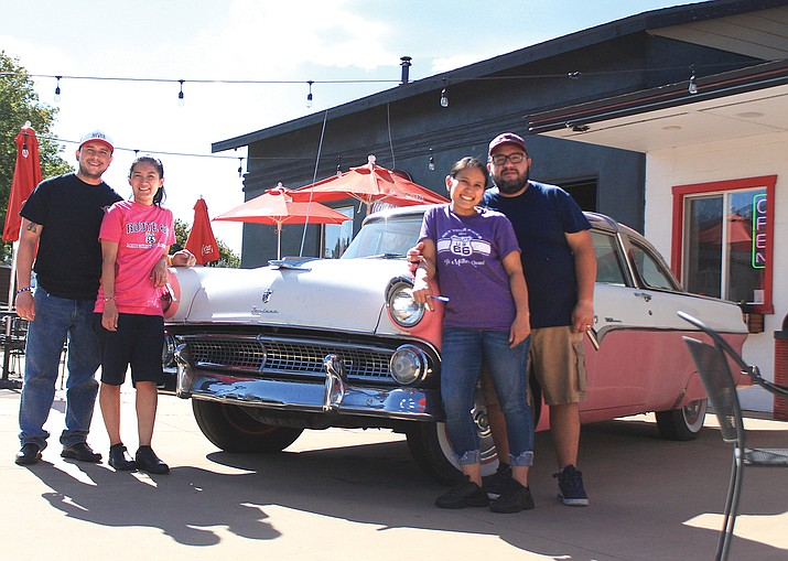 In July Dara Thai owners Moises and Nanny Rojas and Dada and Roberto Ramos purchased Twisters Soda Fountain on Historic Route 66 in Williams. The couples decided to keep both names and serve Thai food as well as classic American favorites. (Loretta McKenney/WGCN)