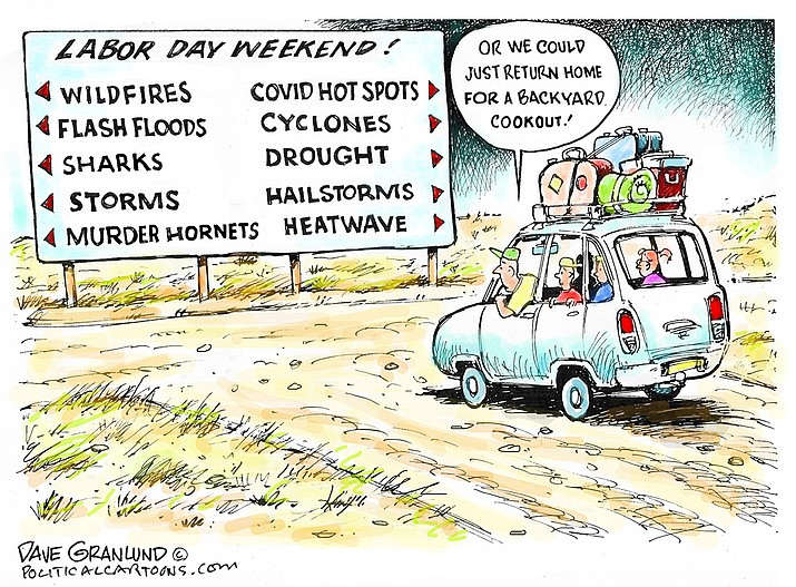 Editorial cartoon (1): Sept. 3, 2021