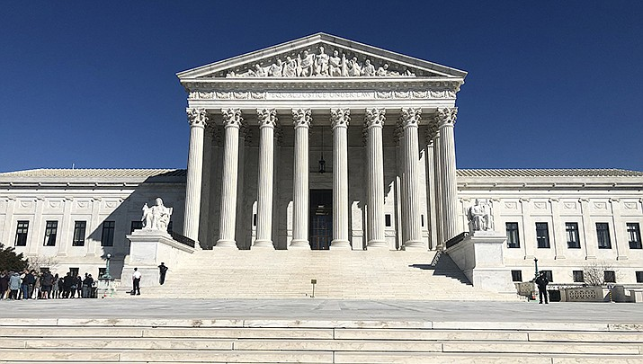 The U.S. Supreme Court, by not taking a case, allowed a new Texas abortion law to take effect. (Photo by Marielam1, cc-by-ca-4.0, https://bit.ly/3c5Ag12)