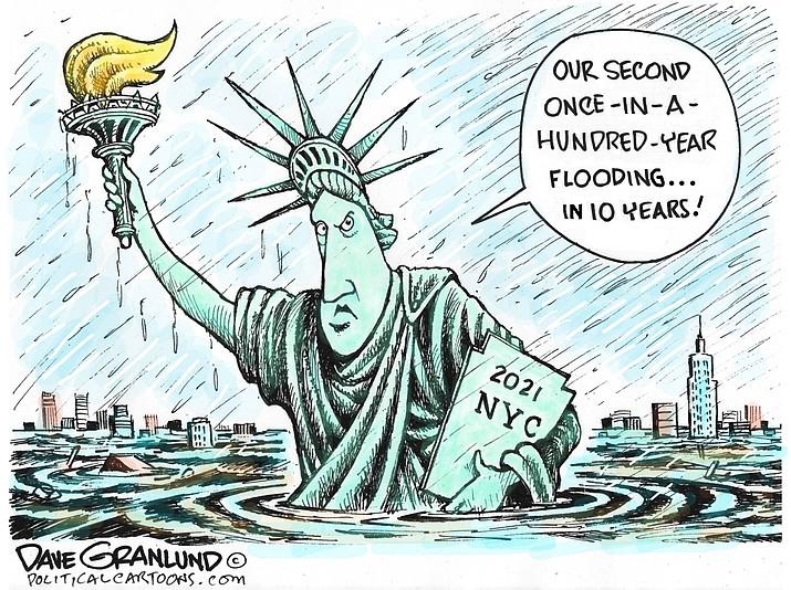Editorial cartoon (1): Sept. 4, 2021