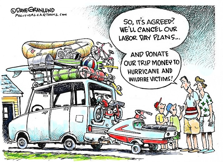 Editorial cartoon (1): Sept. 6, 2021