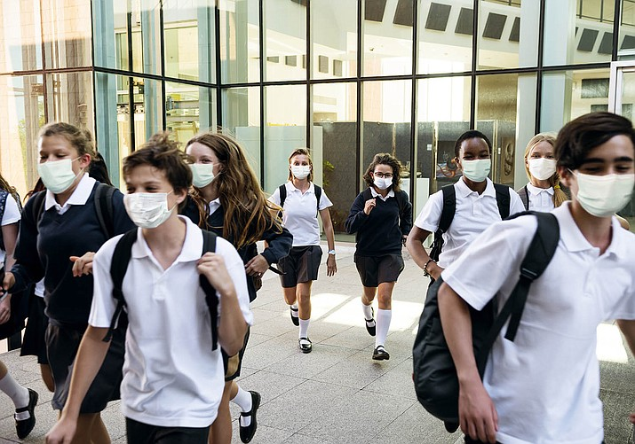 Attorneys are arguing in court whether the state's ban on schools' mask mandates is legal or not. (Independent stock photo)