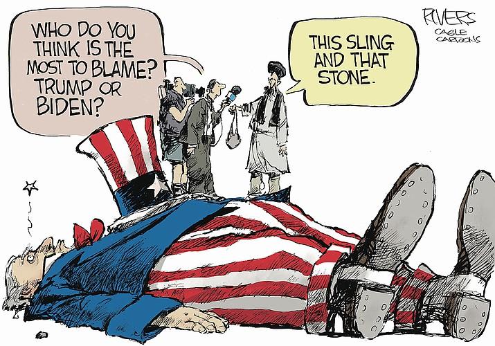 Editorial cartoon (1): Sept. 5, 2021