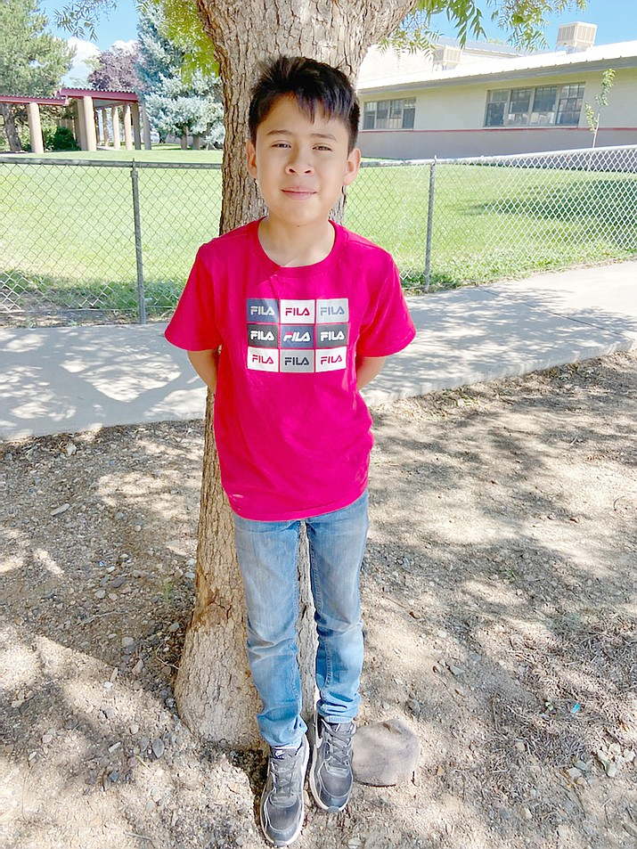 Juan Cid Ortega of Del Rio School is the Student of the Week for the Chino Valley Unified School District. (Courtesy)