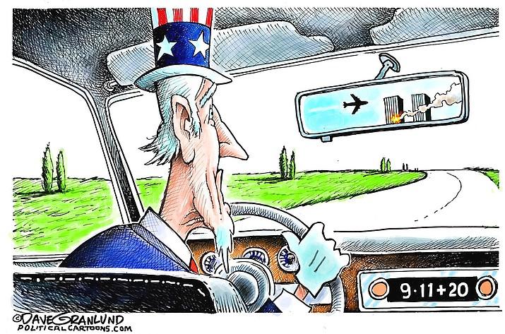 Editorial cartoon (1): Sept. 8, 2021