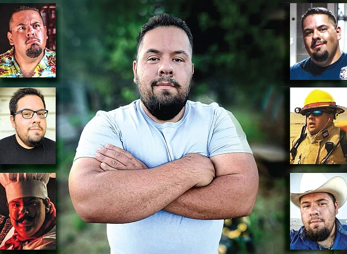 Cris Acosta was born and raised in northern Arizona and is pursuing a career in acting. He is also a volunteer firefighter, entrepreneur and full-time employee of Ash Fork Unified School District. (Photo courtesy of Cris Acosta)