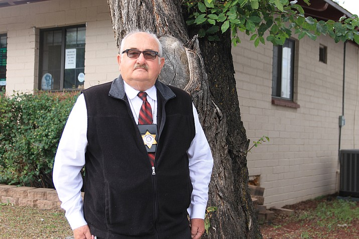Greg King has settled in as the constable for the Williams precinct for Coconino County. (Wendy Howell/WGCN)