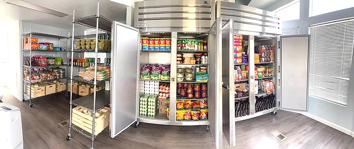 Tusayan Cares, with the help of Stilo Development Group and St. Mary's Food Bank, will offer food four days a week at the Tusayan Food Pantry. (Photo/St. Mary's Food Bank)