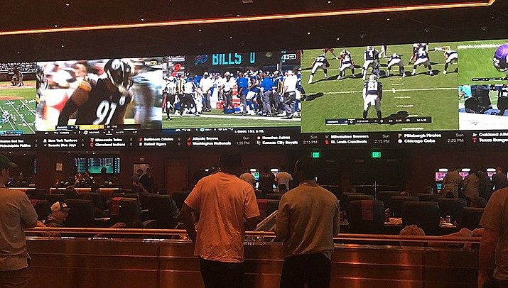 A judge on Monday evening refused to block a new Arizona law allowing sports gambling to be run by professional sports teams. (Photo by Dough4872, cc-by-sa-4.0, https://bit.ly/3zYhNO4)