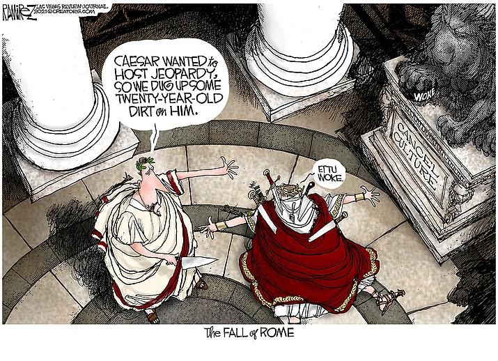 Editorial cartoon (2): Sept. 8, 2021