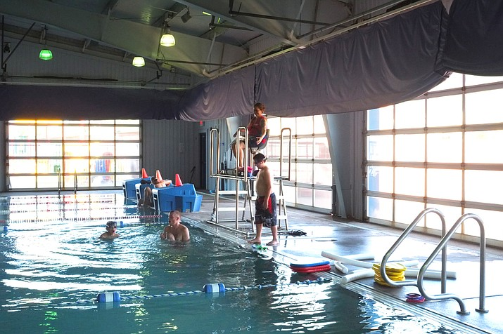 The Friends of the Williams Aquatic Center continues   fundraising to reopen the facility. (Loretta McKenney/WGCN)