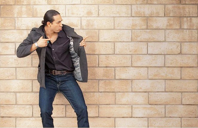 Actor and comedian Tatanka Means. (Photo courtesy of Tatanka Means via Indian Country Today)