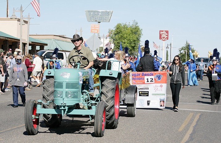 This file photo shows the 2020 Fort Verde Days Parade. The 65th annual parade is scheduled for Saturday, Oct. 9, 2021, in Camp Verde. (Independent file photo)