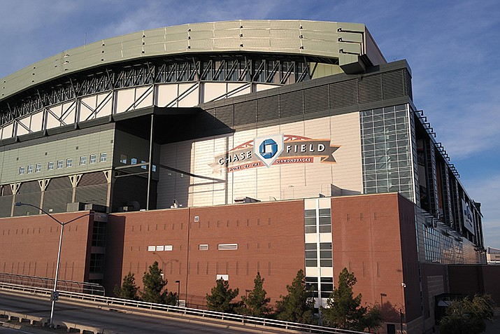 The Texas Rangers beat the Arizona Diamondbacks 3-1 on Tuesday, Sept. 7 in a Major League Baseball game played at Chase Field in Phoenix. (Photo by Visitor7, cc-by-sa-3.0, https://bit.ly/2yLjdk7)