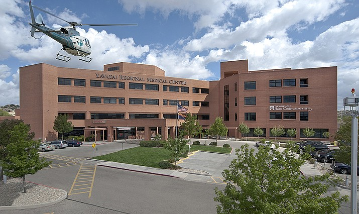 Shown is YRMC West Campus in Prescott. Hospital officials do not anticipate rationing care as Idaho hospitals are during a surge of COVID cases in that state. (Courier file photo)