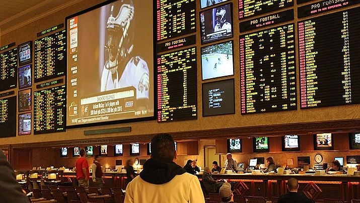 Arizona's first sports betting operations opened for business on Thursday, in time for the start of the NFL season. (Photo by Baishampayan Ghose, CC by 2.0, https://bit.ly/2SXfqVJ)
