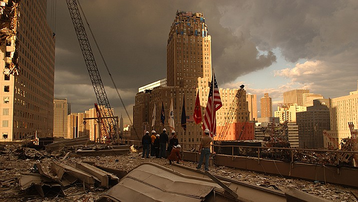 Twenty years after the attack at the World Trade Center, many first responders and victims are still suffering from medical problems related to the toxic dust cloud that spread across Manhattan after the towers collapsed. (Federal Emergency Management Agency photo/Public domain)