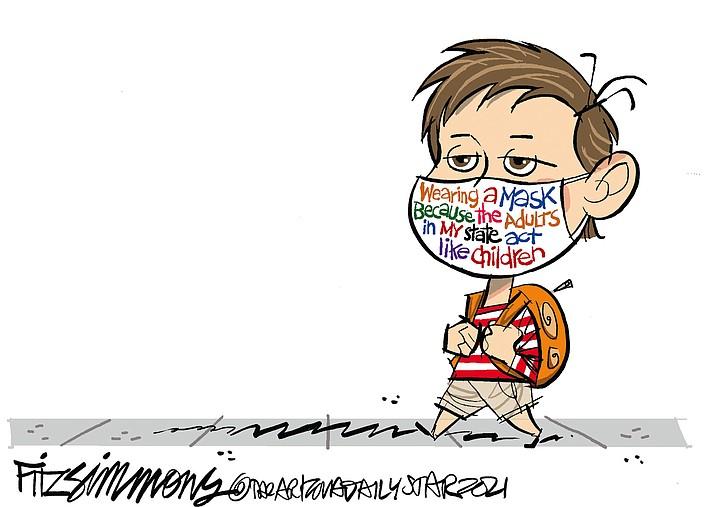 Editorial cartoon (1): Sept. 13, 2021