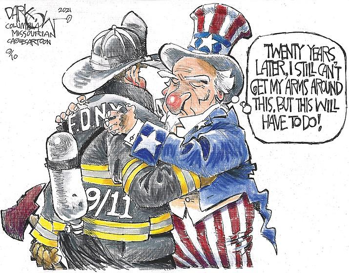 Editorial cartoon (1): Sept. 11, 2021