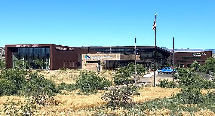 This undated file photo shows the Northern Arizona Healthcare Camp Verde campus, 1298 Finnie Flat Road. Northern Arizona Healthcare has opened an outdoor COVID-19 exam and testing site in Camp Verde. (Independent file photo)