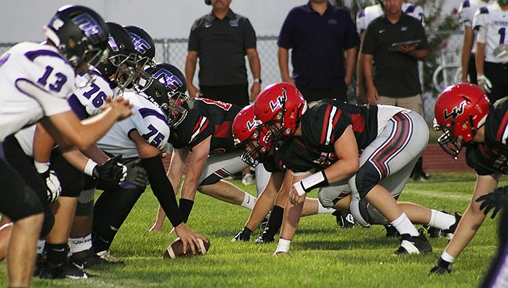 Lee Williams defeated Lake Havasu 28-21 in a high school football game played in Lake Havasu City on Friday, Sept. 10. Lee Williams improved to 1-1 on the season. (Miner file photo)