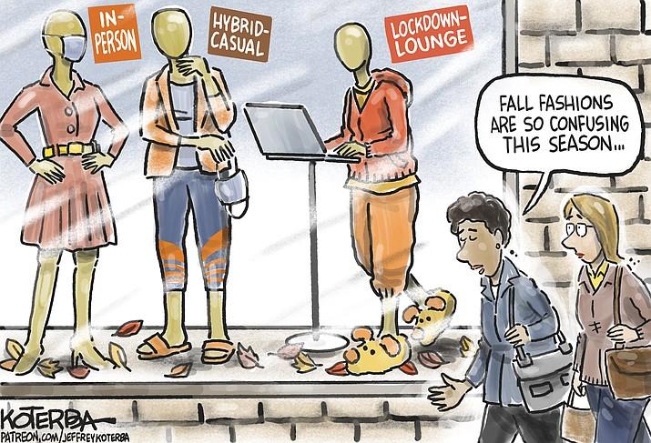 Editorial cartoon (2): Sept. 12, 2021