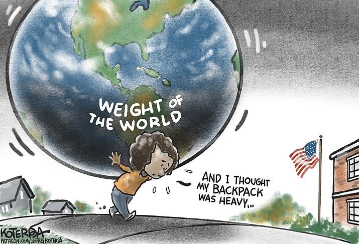 Editorial cartoon (2): Sept. 14, 2021