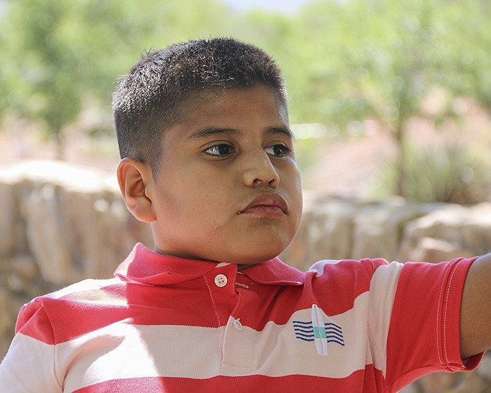 Get to know Carlos at https://www.childrensheartgallery.org/profile/carlos-0 and other adoptable children at childrensheartgallery.org. (Arizona Department of Child Safety)