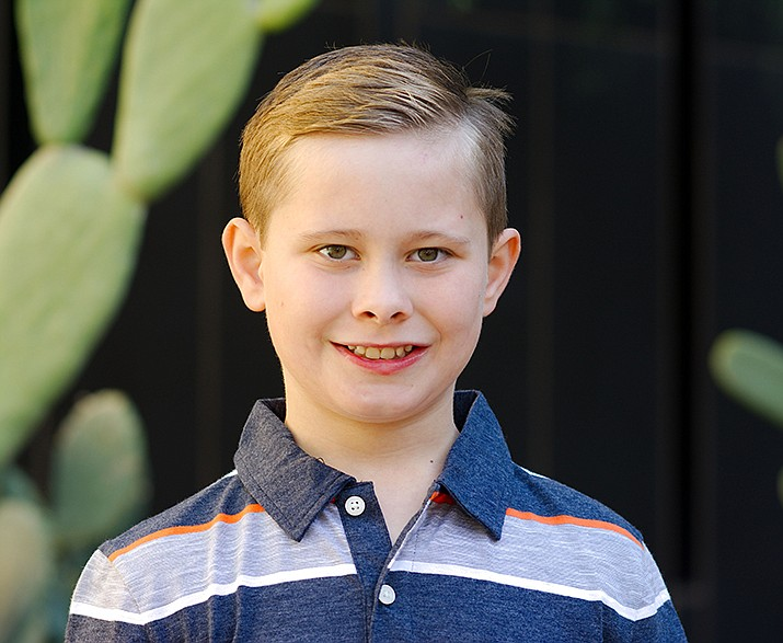Get to know Mathew at https://www.childrensheartgallery.org/profile/mathew-t and other adoptable children at childrensheartgallery.org. (Arizona Department of Child Safety)