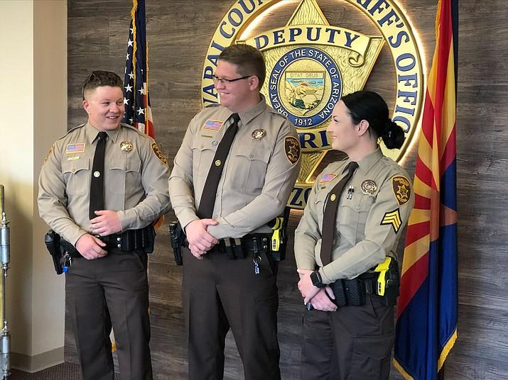 YCSO deputies that received Life Saving Award. (Courtesy)