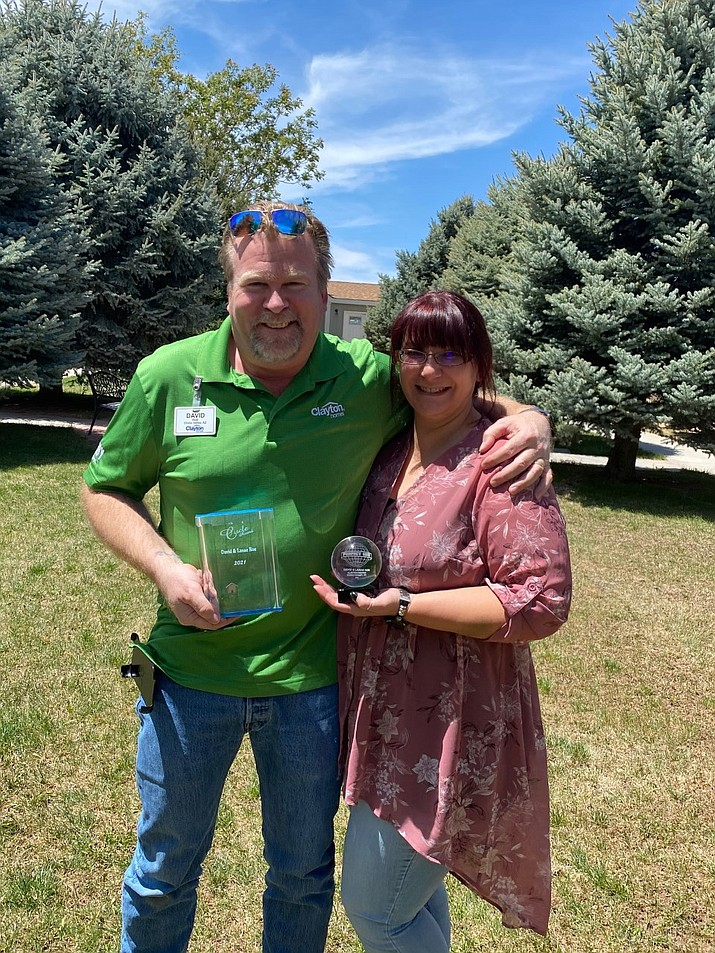 Dave and Lanae Roe of Clayton Homes of Chino Valley. (Courtesy)