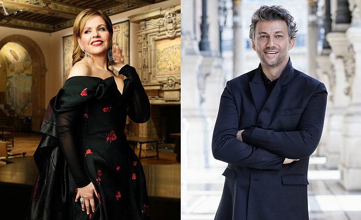 Beloved American diva Renée Fleming performs an intimate concert from the historic Dumbarton Oaks estate in Washington, D.C., recorded live in August 2020, and superstar tenor Jonas Kaufmann gives a thrilling recital of popular arias from the Polling Abbey in Bavaria, recorded live in July 2020. (SIFF/Courtesy)