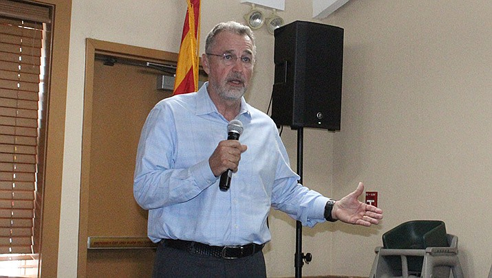 GOP gubernatorial candidate Matt Salmon will address the Kingman Republican Women at noon on Monday, Oct. 4 at the College Park Church Community Center at 1990 Jagerson Ave. in Kingman. (Miner file photo)