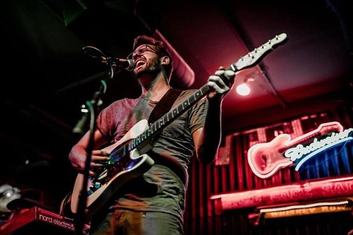 Adam Haar on guitar and lead vocals. (Soundbites Grill/Courtesy)
