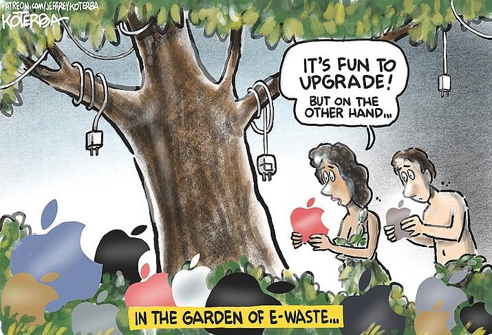 Editorial cartoon (1): Sept. 15, 2021