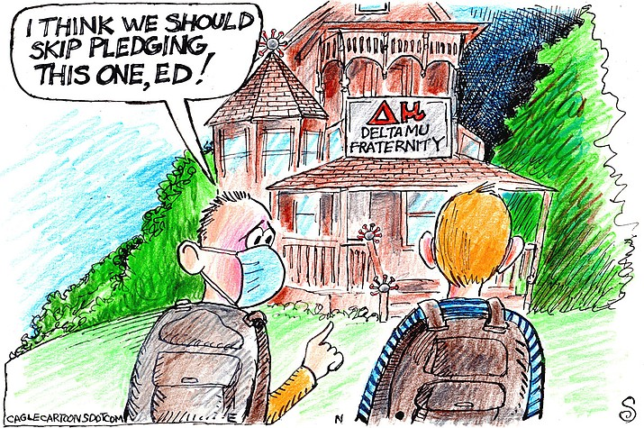 Editorial cartoon (2): Sept. 15, 2021