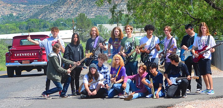 The Mingus Union High School rock band is scheduled to play at Thunder Valley Rally on Friday, Sept. 17, 2021, at Riverfront Park in Cottonwood. (Vyto Starinskas/Kudos)
