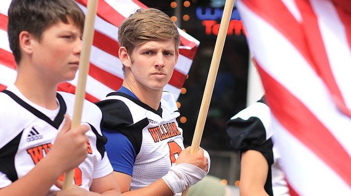 We remember: Williams honors the heroes of 9/11