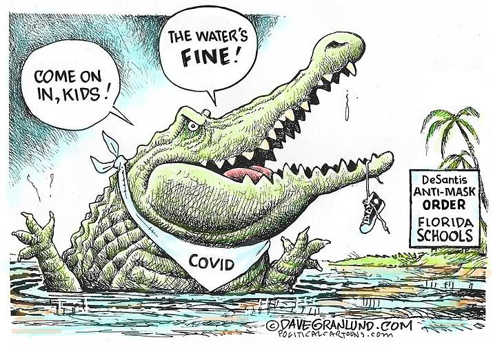 Editorial cartoon (2): Sept. 18, 2021