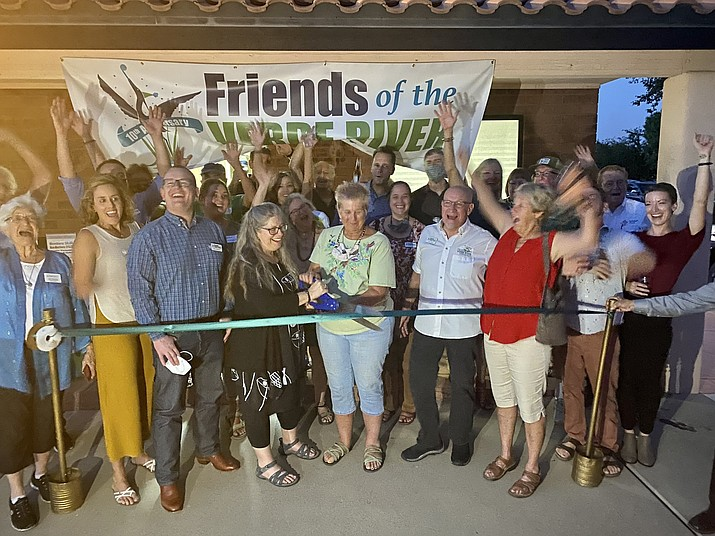 Friends of the Verde River opened the doors to a new office space in Cottonwood on Thursday, Sept. 16, 2021. (FVR/Courtesy)