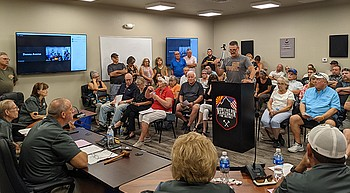 Proponents, opponents of proposed fire district weigh in photo